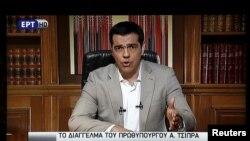 Премьер Ципрас элге кайрылган кез. 28-июнь, 2015-жыл.