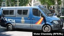 Фургон полиции Испании