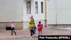 Үлкен ауылындағы балалар