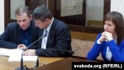 Сяргей Захарыч, Алег Бакулін і Ларыса Асановіч