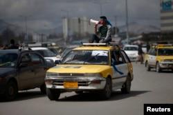 Предвыборная агитация в Кабуле