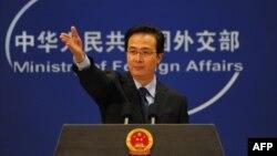 Қытай сыртқы істер министрінің ресми өкілі Хоң Ли. Пекин, 30 қараша, 2010 жыл.