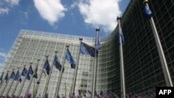 Pamje e selisë së Komisionit Evropian në Bruksel