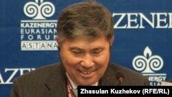Қазақстан энергетика бірінші вице-министрі Ұзақбай Қарабалин.