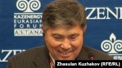 Первый вице-министр энергетики Казахстана Узакбай Карабалин.