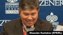 Узакбай Карабалин, министр нефти и газа Казахстана.