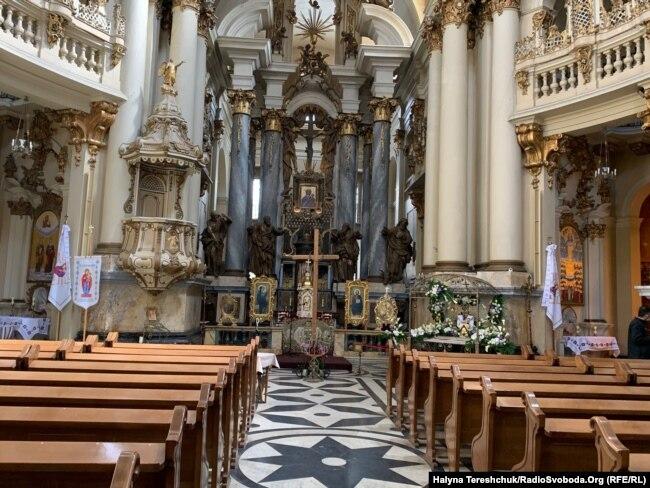 Домініканський собор в Львові у час карантину