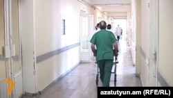 Armenia - The Erebuni hospital in Yerevan, 12Jan2016.