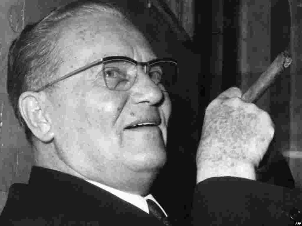 Tito in a portrait taken in April 1967