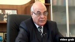 Azərbaycan Boks Federasiyasının vitse-prezidenti Ağacan Əbiyev.