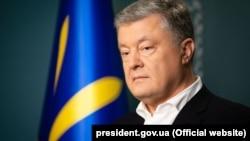 Ish-presidenti i Ukrainës, Petro Poroshenko.