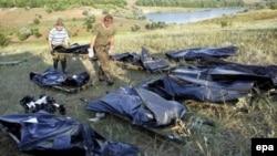 Сегодня родственники жертв катастрофы начнут опознание тел погибших