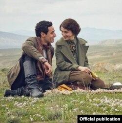 """2015-ci ildə Azərbaycanda çəkilmiş """"Əli və Nino"""" filmindən bir kadr."""