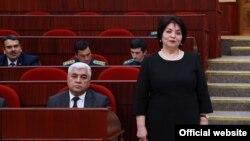 Ўзбекистон Болалар омбудсмани Алия Юнусова.