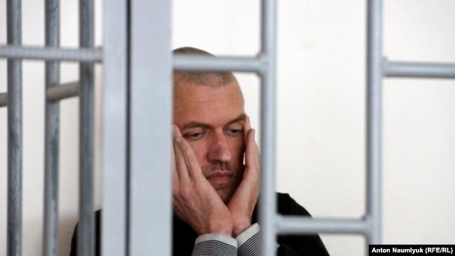 Станислав Клых в российском суде, май 2016 года