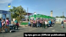 КПВВ «Станиця Луганська», 8 вересня 2018 року