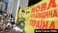 За півтора року до Революції гідності. Мовний Майдан, Київ, 5 липня 2012 року