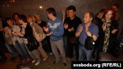 Акция молчаливых в Минске