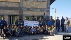 اعتصاب کارگران اعتصابی ابنیه فنی راهآهن در سال گذشته