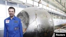 """Jedan od učesnika istraživanja prije početka """"misije"""", maj 2010."""