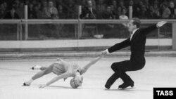 Людмила Белоусова и Олег Протопопов (Олимпиада в Гренобле, 1968 г.)