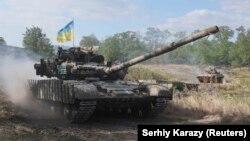 Ілюстраційне фото. Військові навчання у Донецькій області, 28 вересня 2017 року