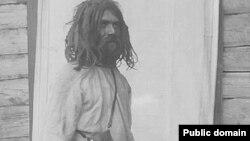 Жыхар Пінскага павету з каўтуном. Ілюстрацыя з альбома здымкаў І.Сербава