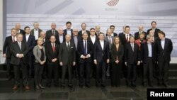 European Union Foreign Ministers meeting in Riga.
