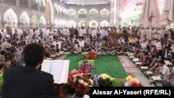 امسية رمضانية في صحن الامام علي بالنجف