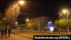 Архивное фото. Ночной Луганск