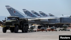 Хмеймим һава аланында Русия хәрби очкычлары