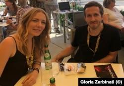 Эльза Кремзер и Левин Петер на кинофестивале в Локарно