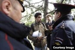 Хакима задерживает полиция