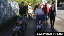 Protest u Podgorici zbog stanja u porodilištima, ilustrativna fotografija