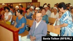 Рассмотрение апелляций осужденных по событиям в Жанаозене. Актау, 2 августа 2012 года.