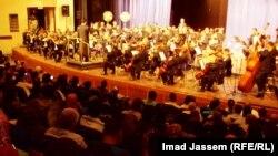 الفرقة السمفونية الوطنية العراقية في حفل عام 2011