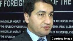 Глава пресс-службы МИД Азербайджана Хикмет Гаджиев