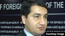 Официальный представитель МИД Азербайджана Хикмет Гаджиев (архив)