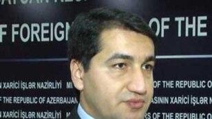 Пресс-секретаря МИД Азербайджана Хикмет Гаджиев