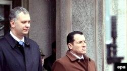 Dragan Šutanovac i Selmo Cikotić u Sarajevu, 25. marta 2009.