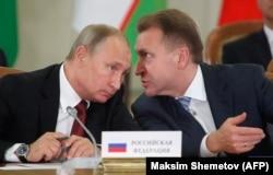 Игорь Шувалов (справа), вице-премьер и владелец лондонской недвижимости