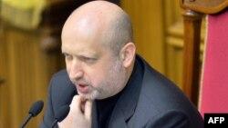 Ukrainanyň prezidentiniň wezipesini wagtlaýyn ýerine ýetiriji Oleksandr Turçynow