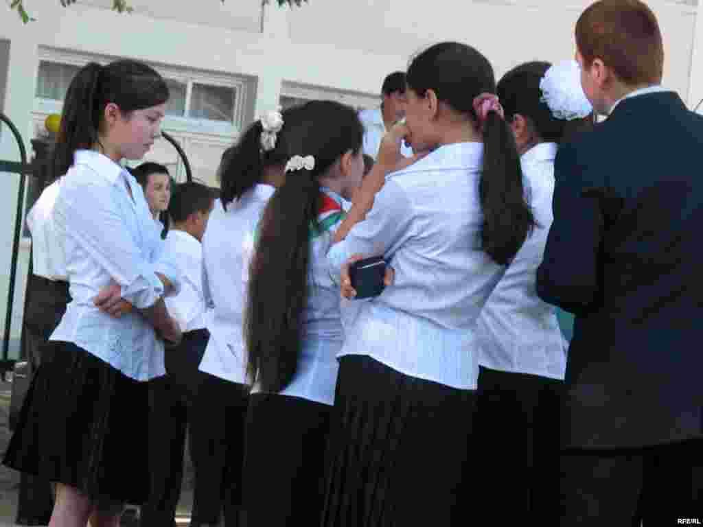 1-уми сентябр дар мактаби № 53-и шаҳри Душанбе