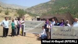 ممثلو منظمات اهلية يعربون عن تضامنهم مع متضرري القصف
