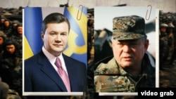 Фотоколаж. Віктор Янукович (зліва) і Павло Лебедєв (справа)