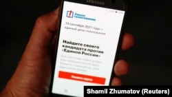 Apple and Google removed Aleksei Navalny's election app from their online stores.