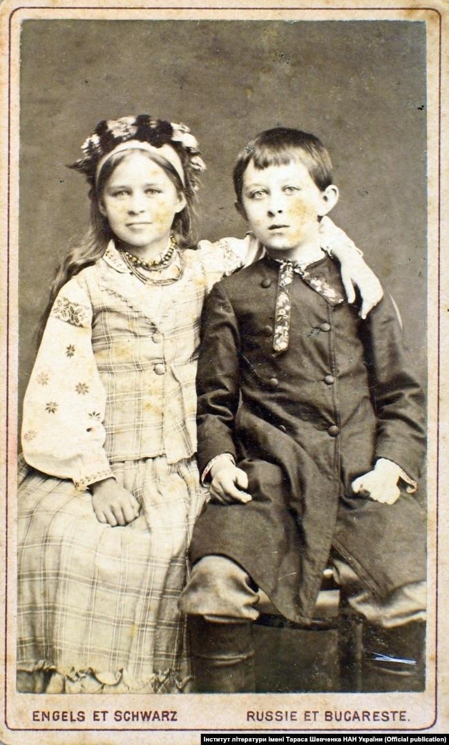 Лариса та Михайло Косачі. Київ, 1881 рік
