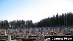 Удмуртия. Южное кладбище