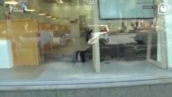 Заложники в филиале «Банка Грузии» в Зугдиди