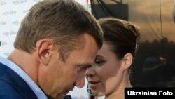 Андрій Шевченко і Наталя Королевська